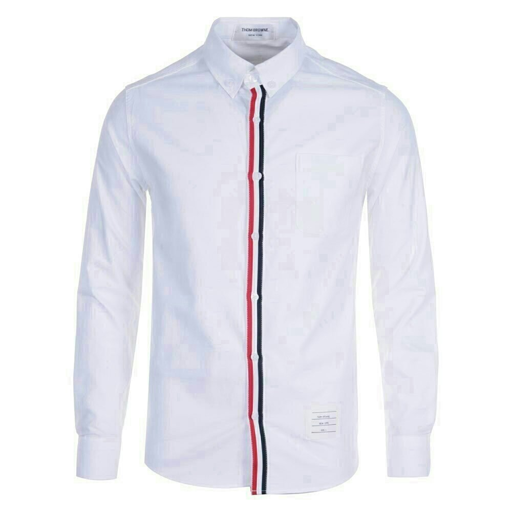 [THOM BROWNE]톰브라운 st. 삼선띠 셔츠