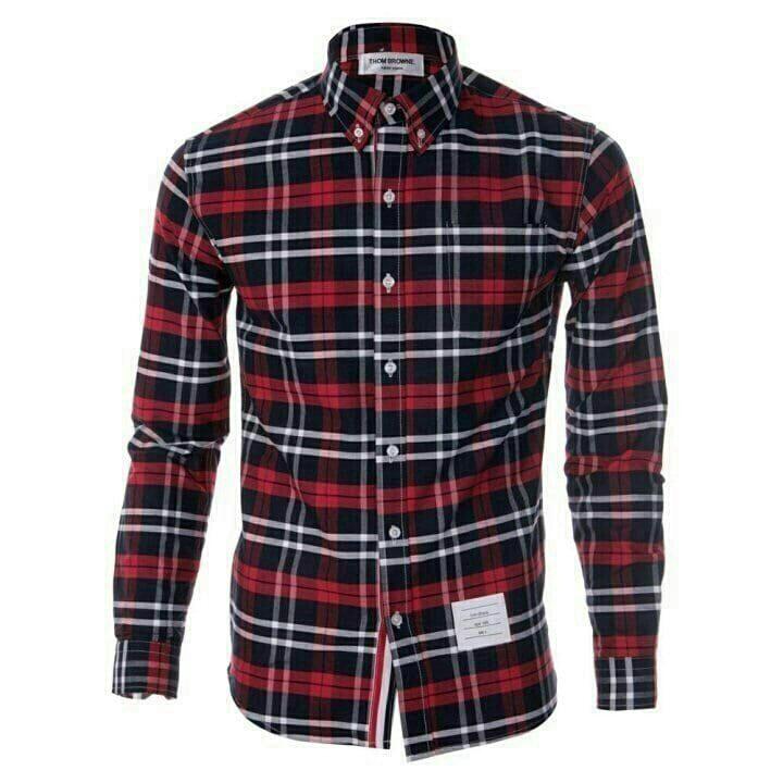 [THOM BROWNE]톰브라운 st. 체크 셔츠(4종)