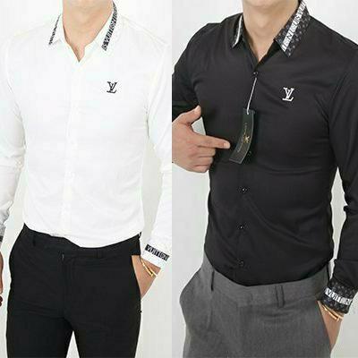 루이비통 C라인 로고포인트 셔츠