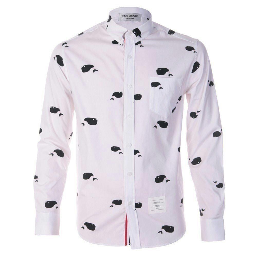 톰브라운 돌고래 셔츠