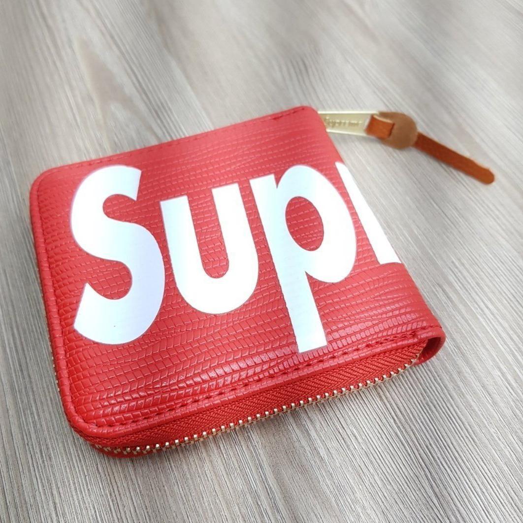 슈프림 카드동전 지갑